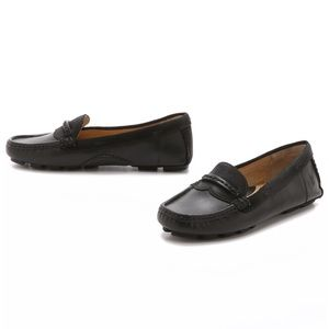 Frye black leather penny loafers - size 6.5
